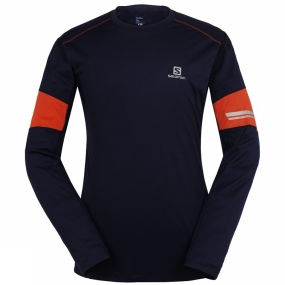 Mens Agile Long Sleeve Tee from Salomon