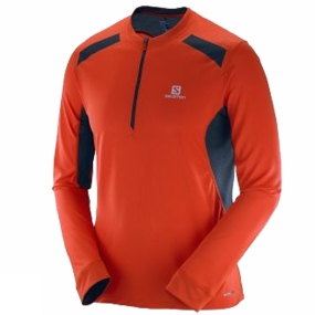 Mens Fast Wing Long Sleeve Tee from Salomon