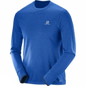 Mens Park Long Sleeve Tee from Salomon