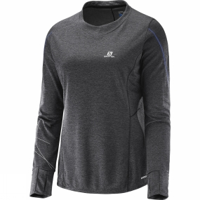 Womens Park Long Sleeve Tee from Salomon