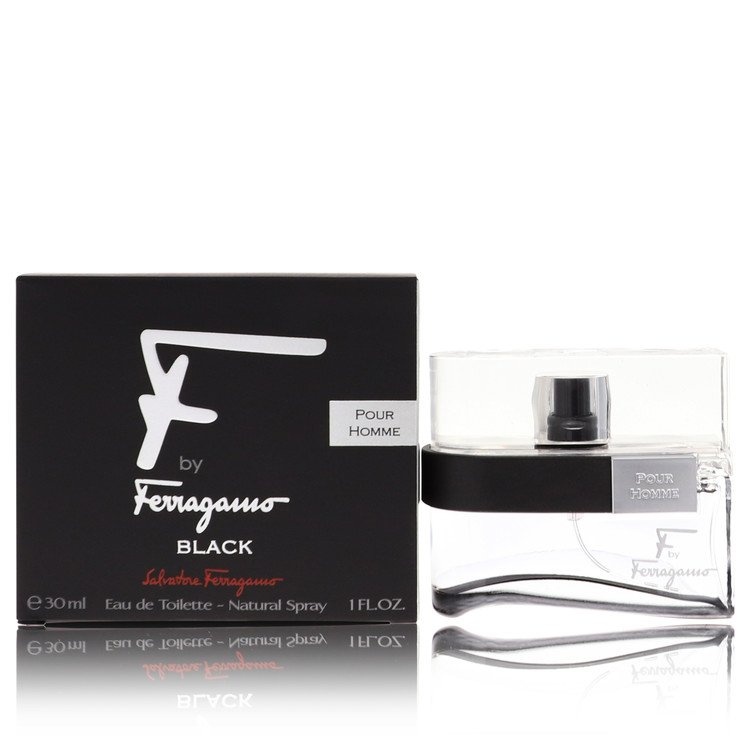 F Black Cologne by Salvatore Ferragamo 1 oz EDT Spay for Men from Salvatore Ferragamo