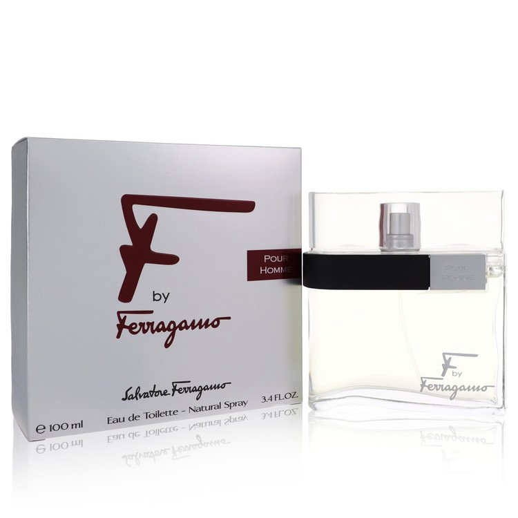 F Cologne by Salvatore Ferragamo 3.4 oz EDT Spray for Men from Salvatore Ferragamo