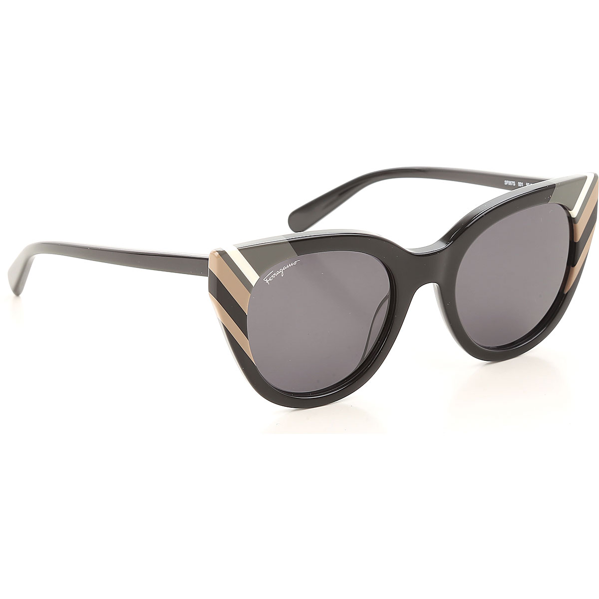 Salvatore Ferragamo Sunglasses On Sale, Black, 2021 from Salvatore Ferragamo