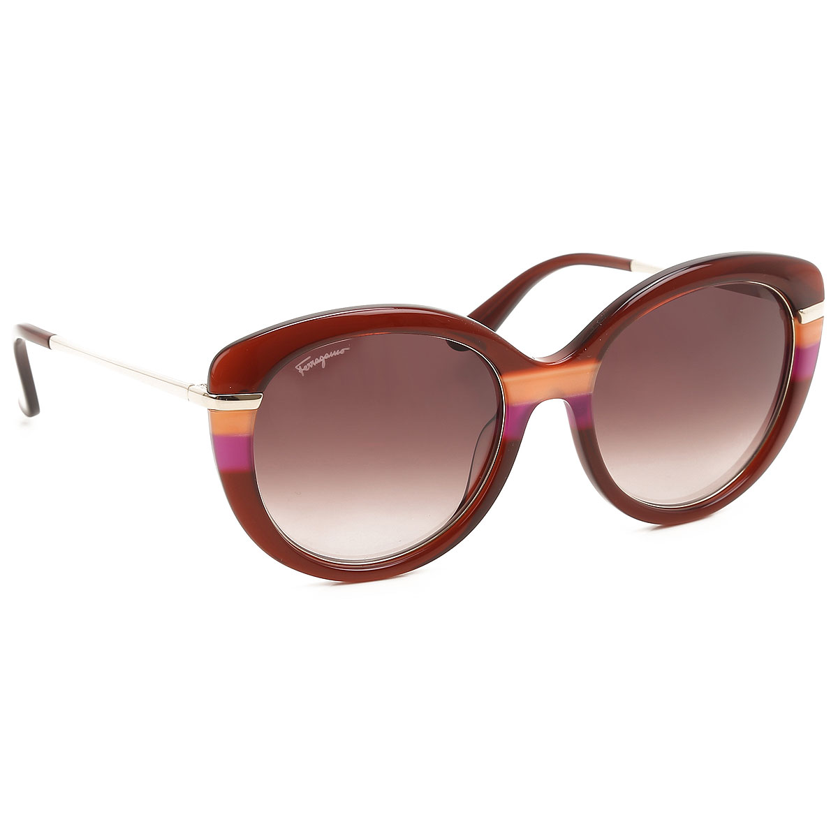 Salvatore Ferragamo Sunglasses On Sale, Burgundy, 2021 from Salvatore Ferragamo