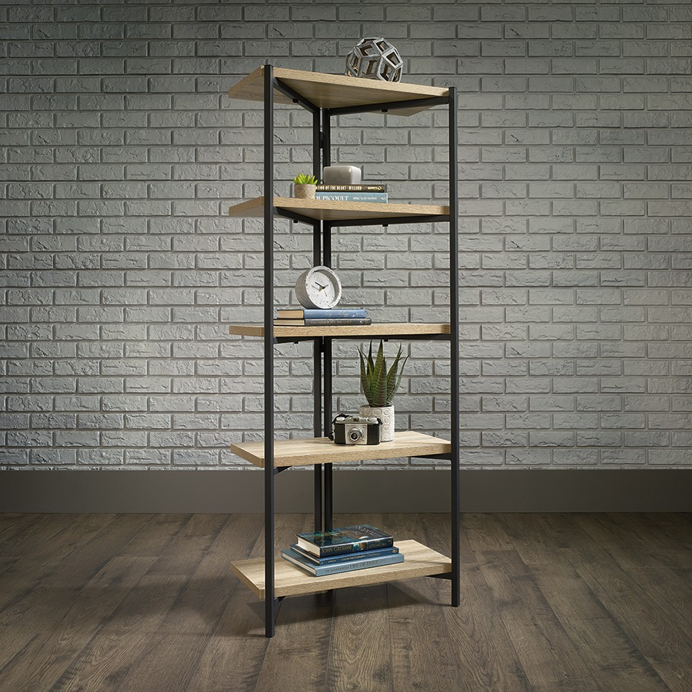 "59.331"" North Avenue Bookshelf Charter Oak - Sauder from Sauder"