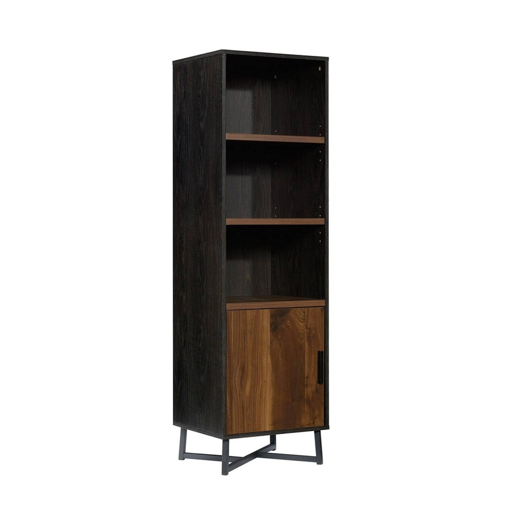 "70"" Canton Lane Bookcase with Door Brew Brown - Sauder from Sauder"