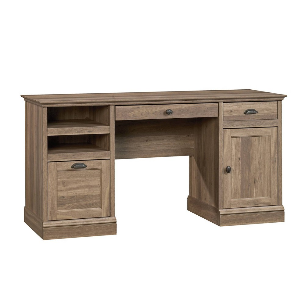 Barrister Lane Executive Desk Brown - Sauder from Sauder