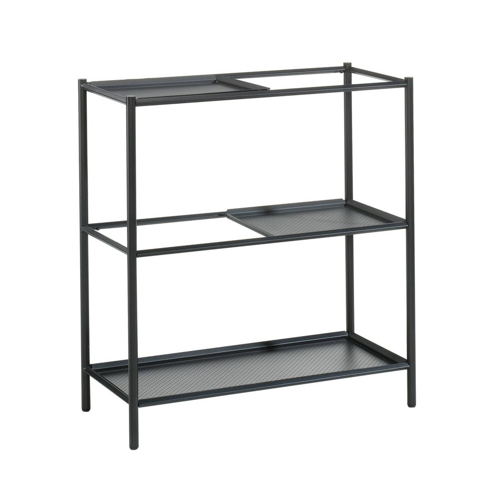 Boulevard Cafe Plant Stand Shelf Black - Sauder from Sauder