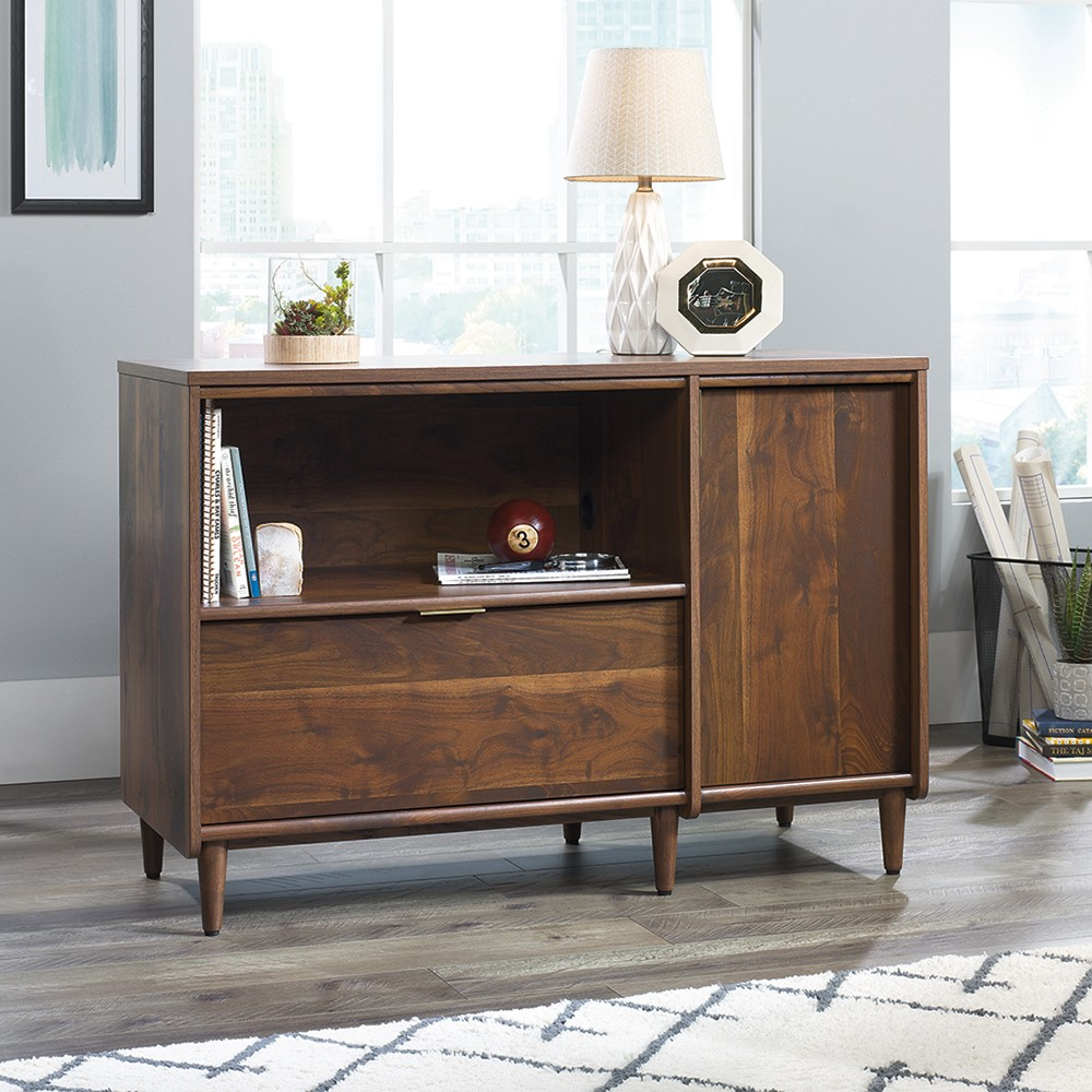 Clifford Place Credenza Grand Walnut - Sauder from Sauder