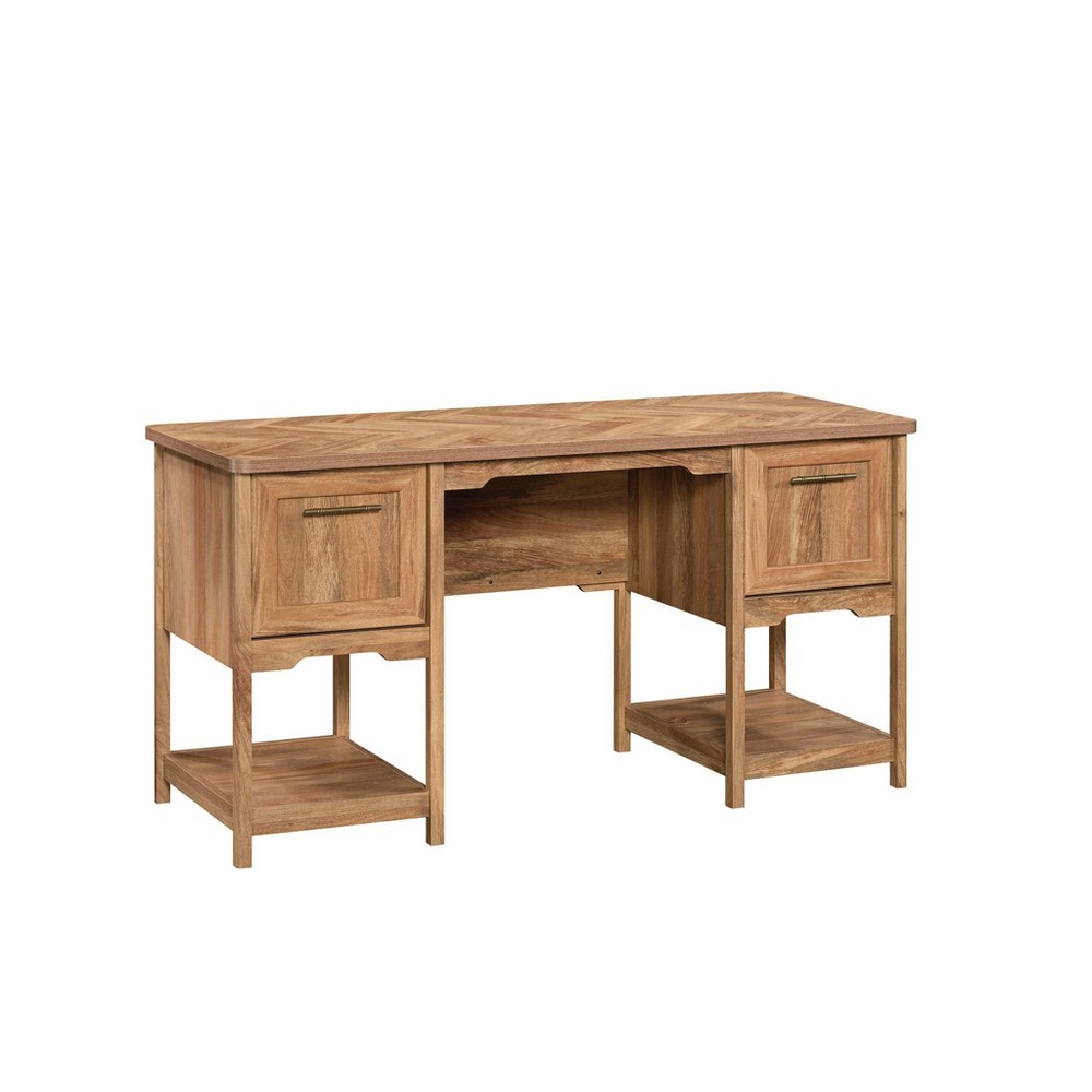 Coral Cape Desk Sindori Mango - Sauder from Sauder