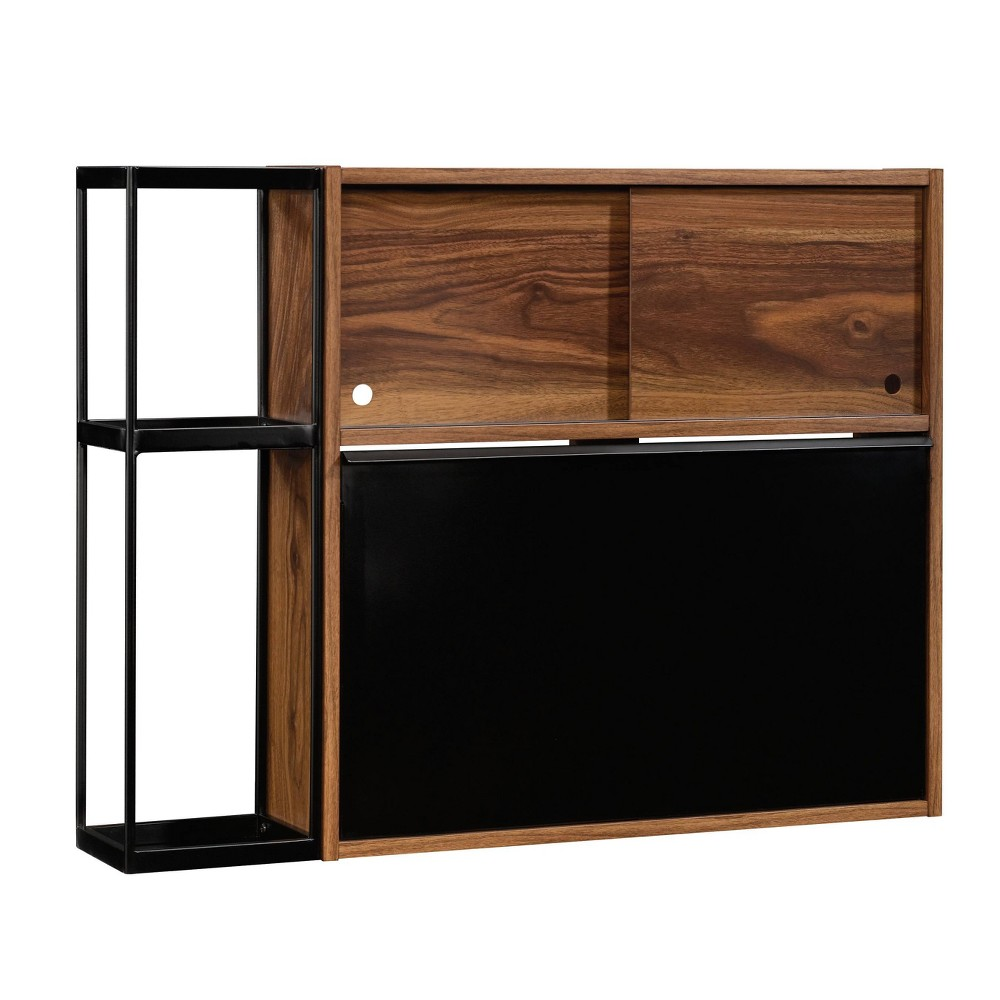 Harvey Park Wall Bar Grand Walnut - Sauder from Sauder