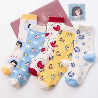 Printed Socks (Various Designs) from Sayaka