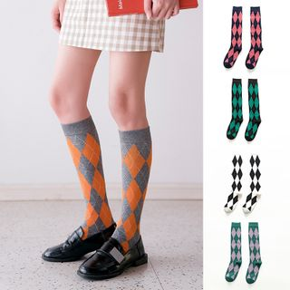 Argyle Socks from Saysmith