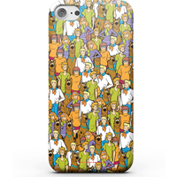 Scooby Doo Character Pattern Phone Case for iPhone and Android - Samsung S7 - Snap Case - Gloss from Scooby Doo