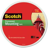 "Foam Mounting Double-Sided Tape, 3/4"" Wide x 350"" Long from Scotch"