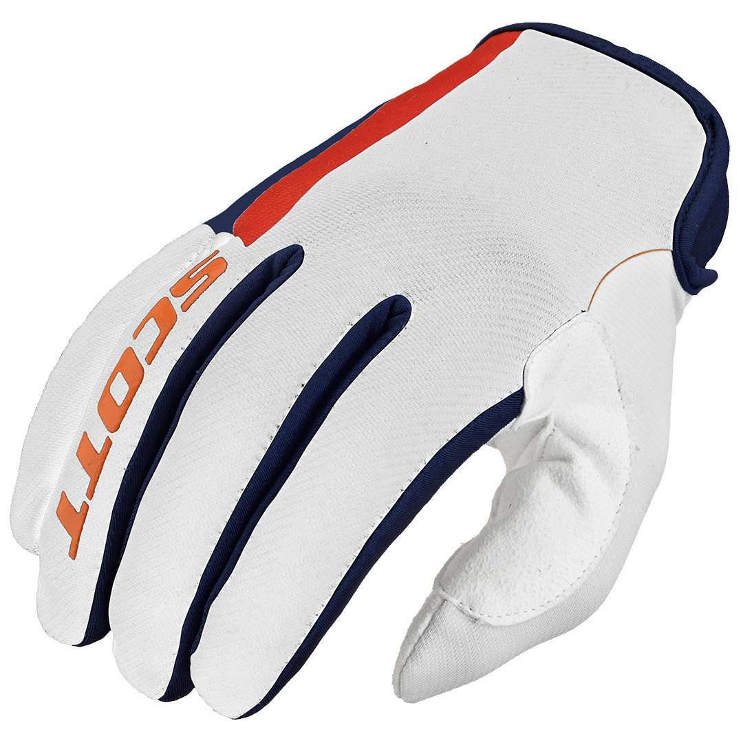 Scott 350 Dirt Gloves 2016, white-red-blue, Size L, white-red-blue, Size L from Scott