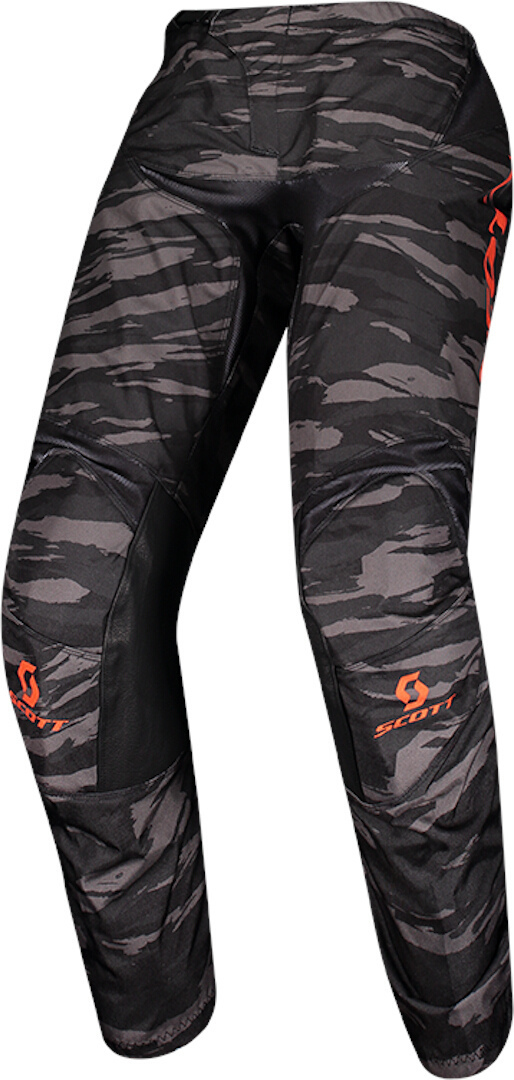 Scott 350 Dirt Motocross Pants, black-orange, Size 30, black-orange, Size 30 from Scott