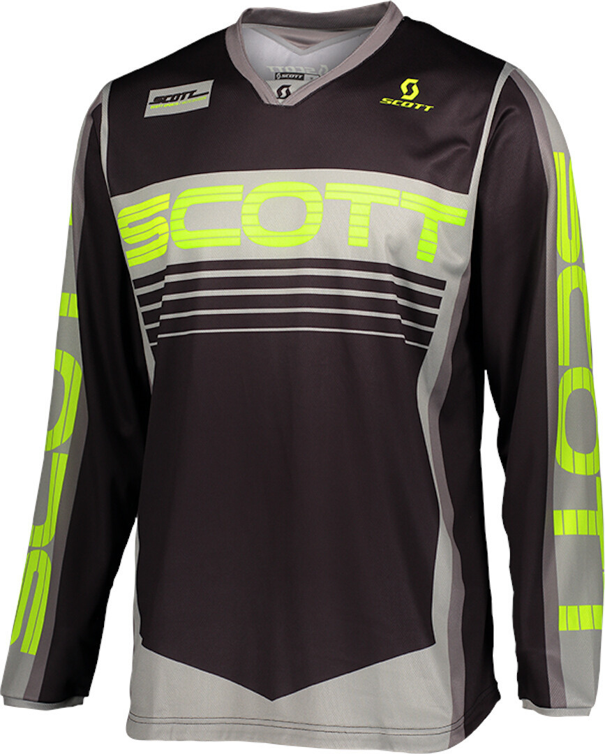 Scott 350 Race Motocross Jersey, grey-yellow, Size L, grey-yellow, Size L from Scott