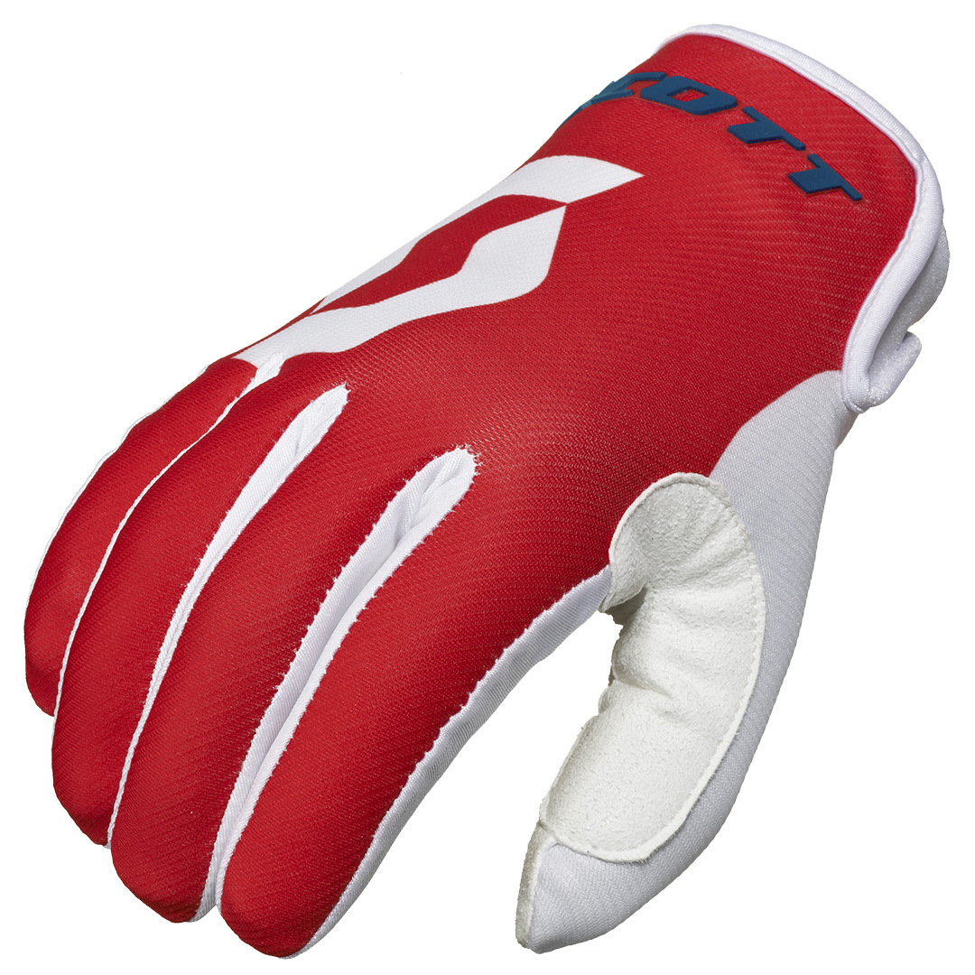 Scott 350 Track Gloves 2016, white-red, Size M, white-red, Size M from Scott