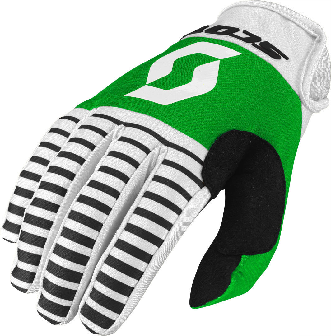 Scott 350 Track Motocross Gloves 2017, black-white, Size XL, black-white, Size XL from Scott