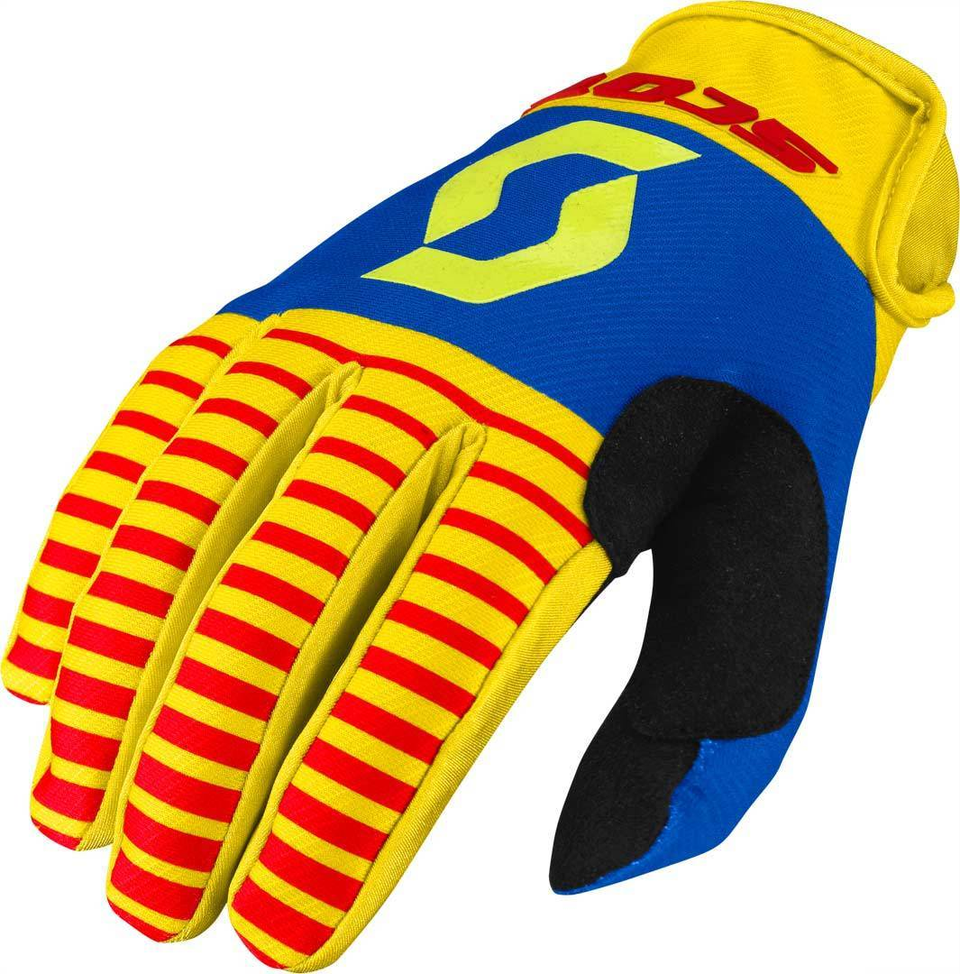 Scott 350 Track Motocross Gloves 2017, red-yellow, Size 2XL, red-yellow, Size 2XL from Scott