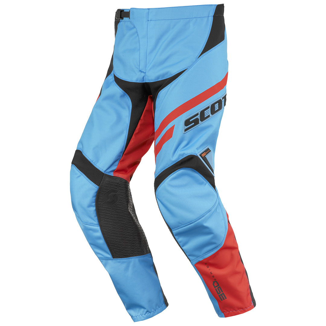 Scott 350 Track Motocross Pants 2016, blue-orange, Size 30, blue-orange, Size 30 from Scott