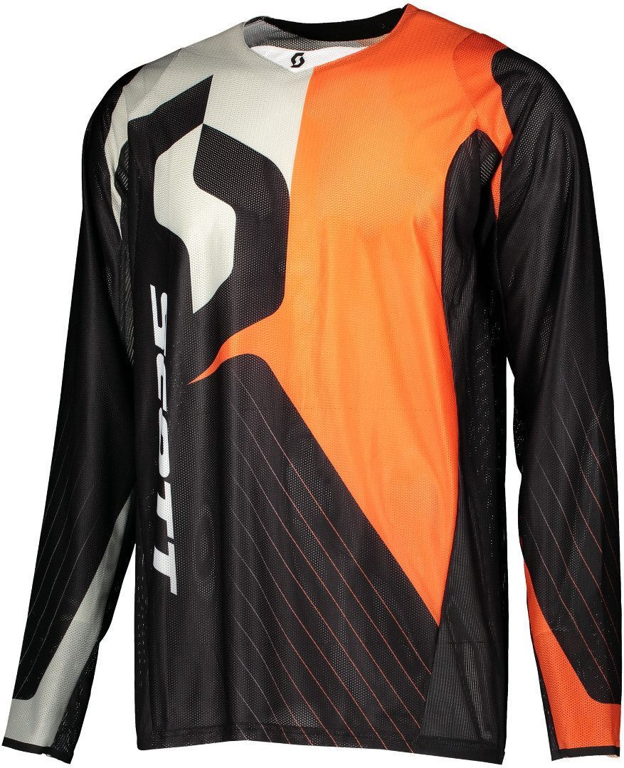 Scott 450 Angled Light Motocross Jersey, black-orange, Size S, black-orange, Size S from Scott