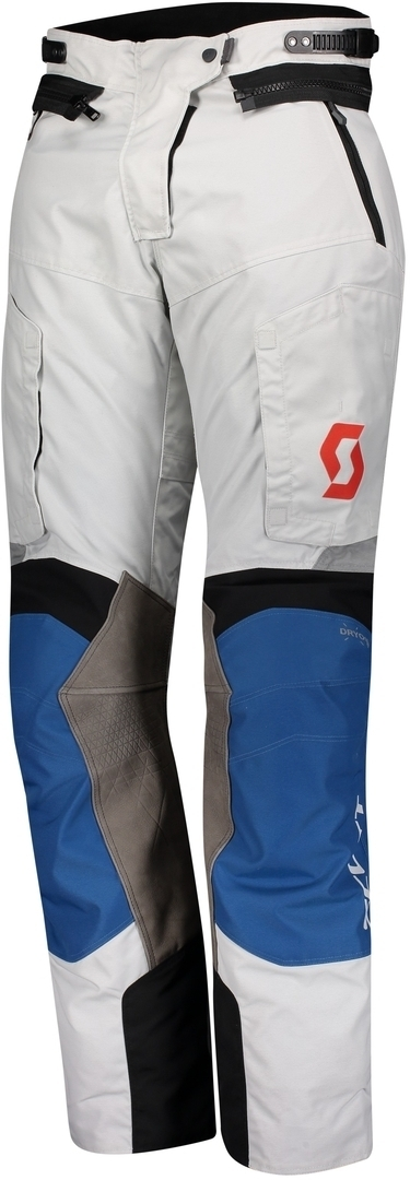 Scott Dualraid Dryo Ladies Motorcycle Textile Pants, grey-blue, Size 48 for Women, grey-blue, Size 48 for Women from Scott