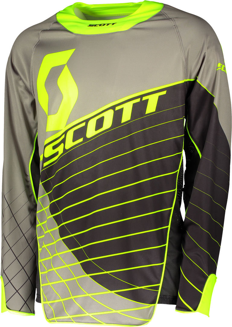 Scott Enduro Motocross Jersey, black-yellow, Size M, black-yellow, Size M from Scott
