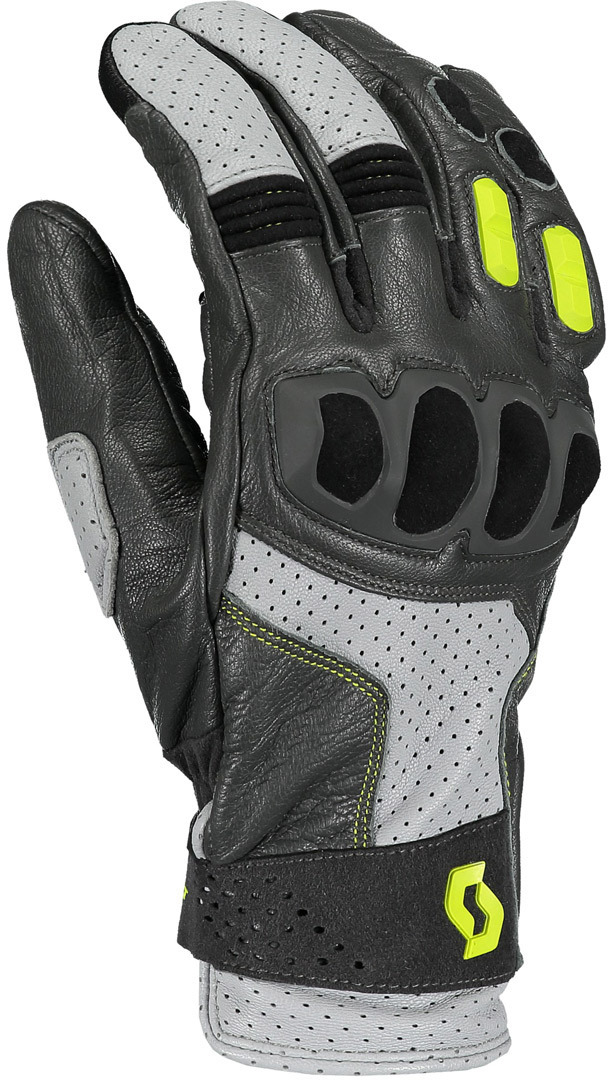 Scott Sport ADV Motorcycle Gloves, black-yellow, Size 2XL, black-yellow, Size 2XL from Scott