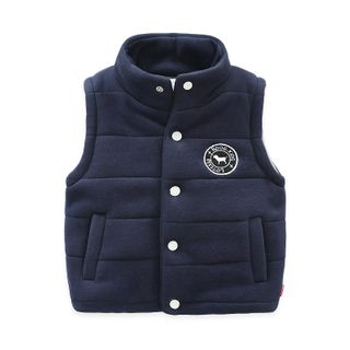 Kids Buttoned Padded Vest from Seashells Kids