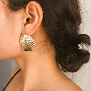 Alloy Shell Earring from Seirios