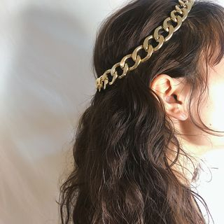 Aluminium Headpiece 0401 - Eco Freindly - Gold - One Size from Seirios