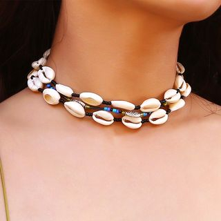 Scallop Layered Choker from Seirios
