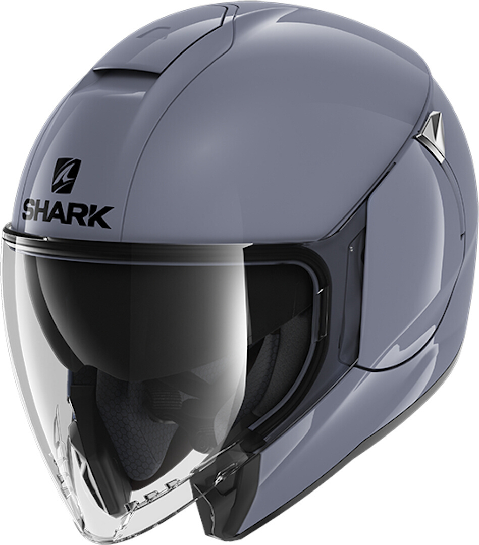 Shark CityCruiser Blank Jethelm, grey, Size XS, grey, Size XS from Shark