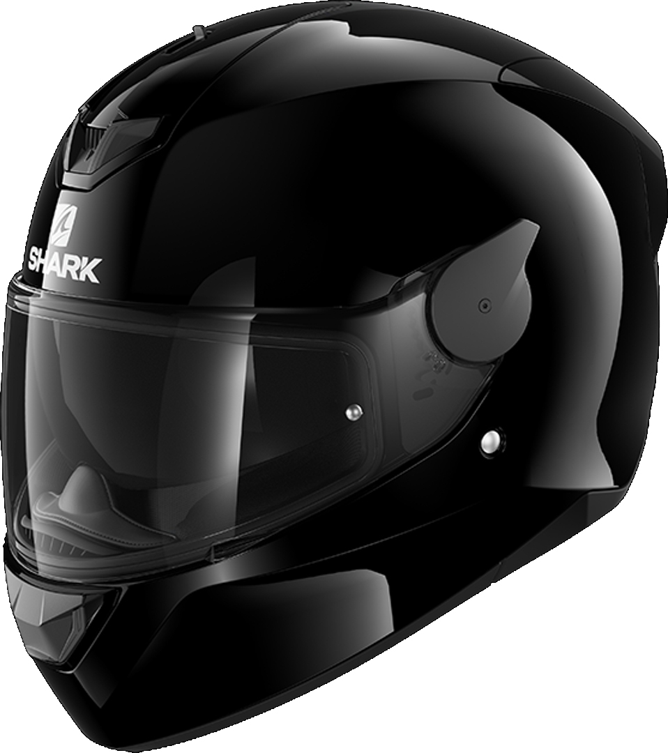 Shark D-Skwal 2 Blank Helmet, black, Size L, black, Size L from Shark