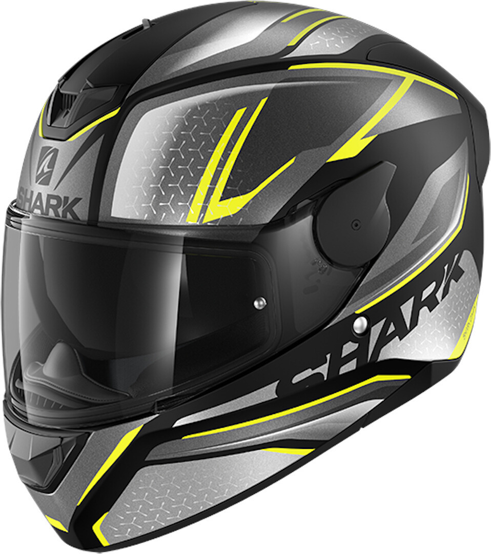 Shark D-Skwal 2 Daven Helmet, grey-yellow, Size S, grey-yellow, Size S from Shark