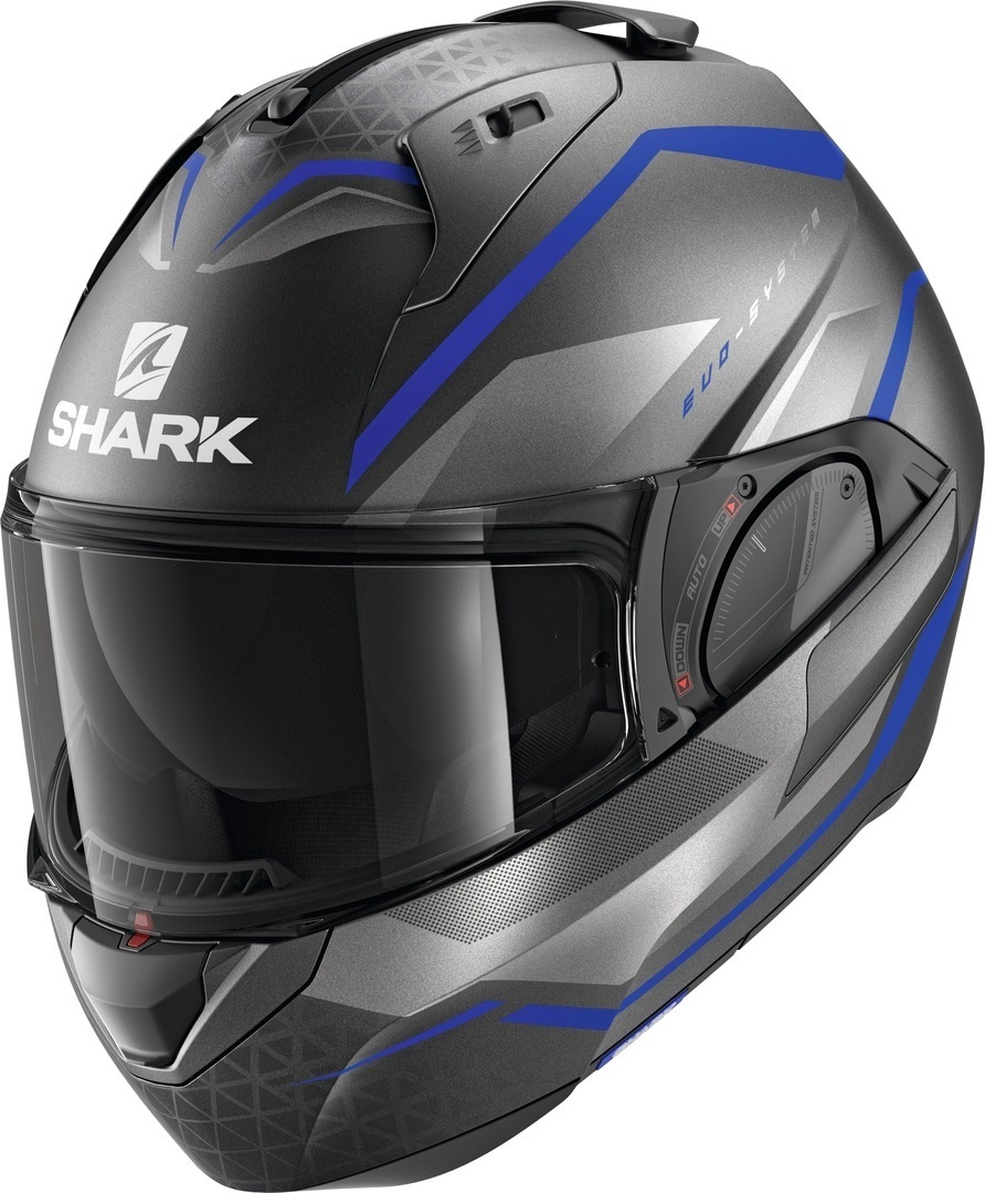 Shark Evo-ES Yari Helmet, black-blue, Size XL, black-blue, Size XL from Shark