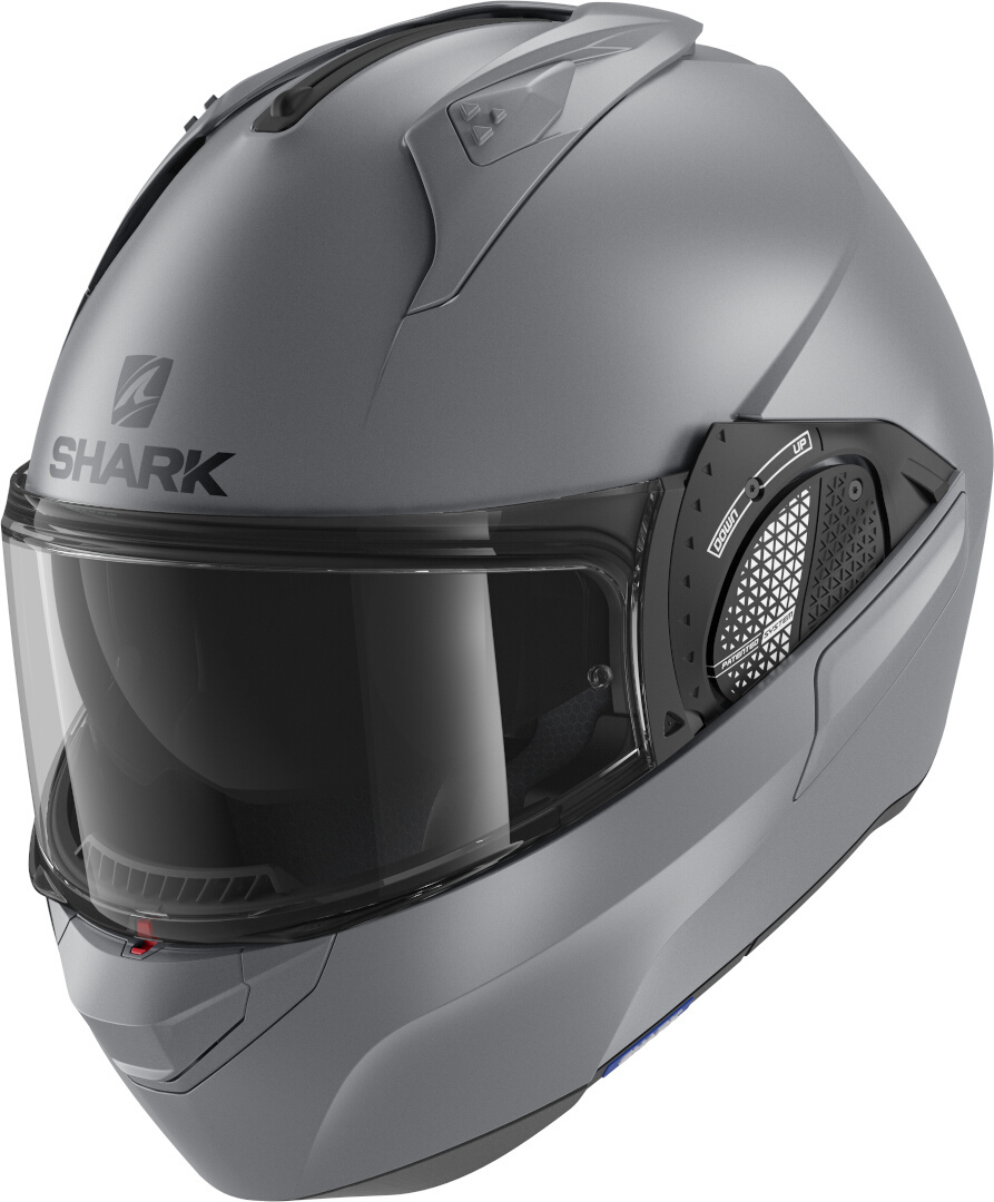 Shark Evo-GT Blank Helmet, grey, Size S, grey, Size S from Shark