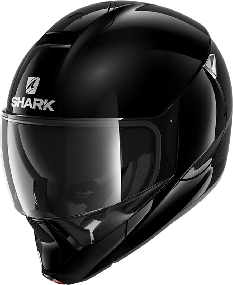 Shark Evojet Blank Helmet, black, Size M, black, Size M from Shark
