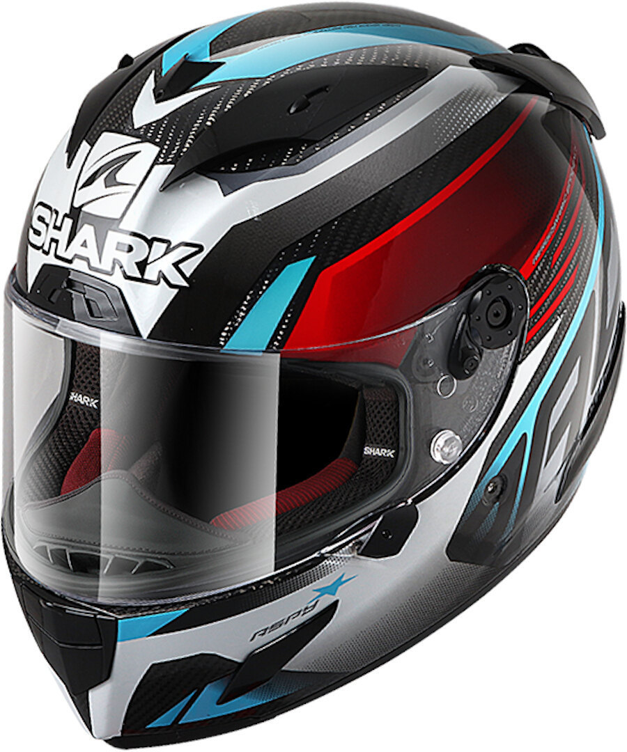 Shark Race-R Carbon Pro Aspy Helmet, carbon-blue, Size XL, carbon-blue, Size XL from Shark