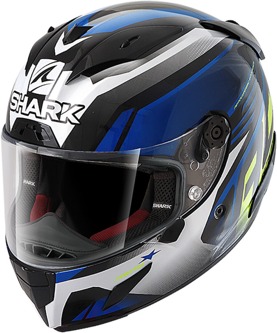 Shark Race-R Pro Aspy Helmet, black-blue, Size M, black-blue, Size M from Shark