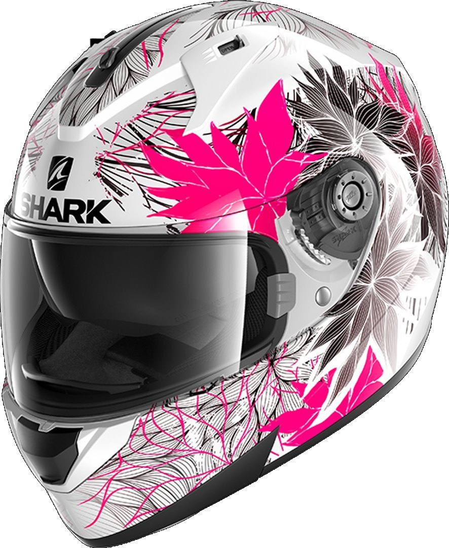 Shark Ridill Nelum Helmet, black-white-pink, Size M, black-white-pink, Size M from Shark
