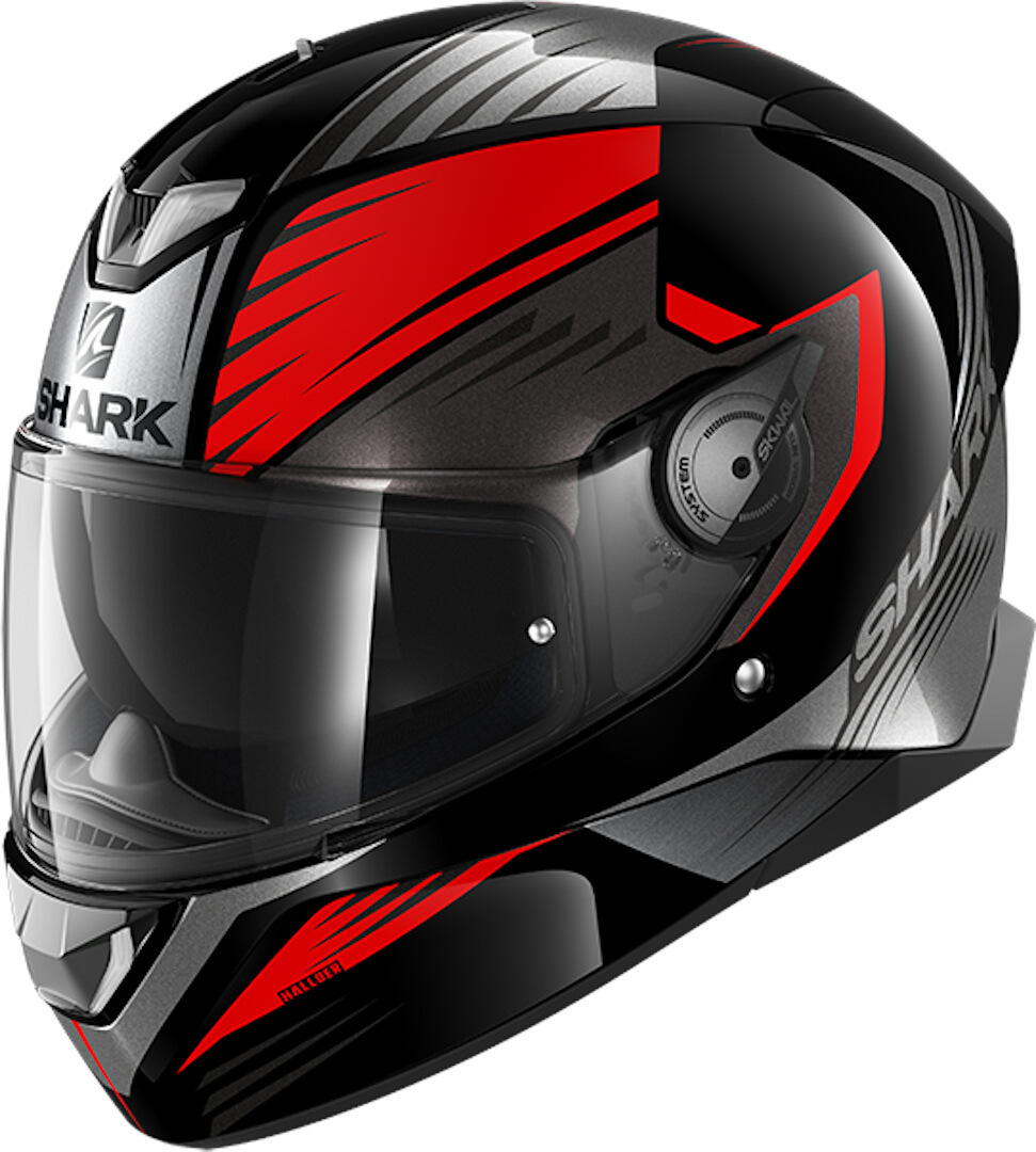 Shark Skwal 2 Hallder Helmet, black-red, Size L, black-red, Size L from Shark