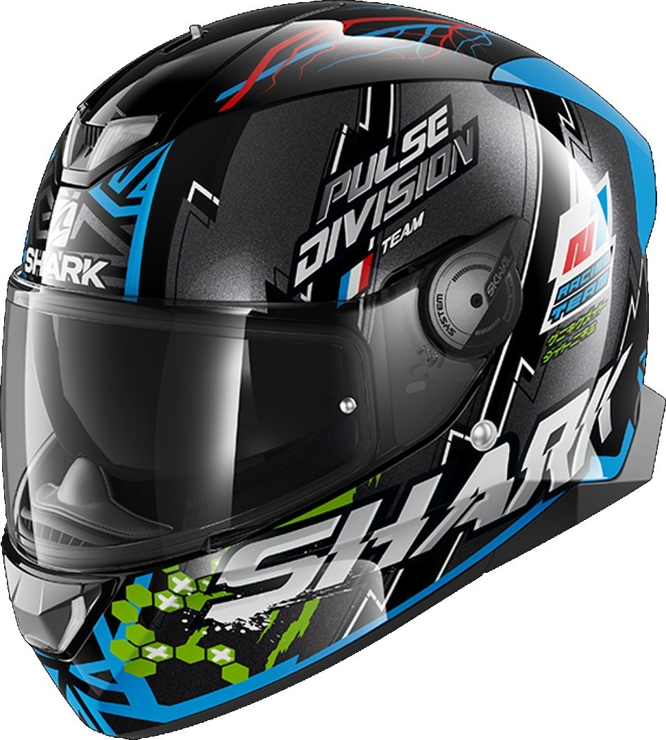 Shark Skwal 2.2 Noxxys Helmet, black-blue, Size XL, black-blue, Size XL from Shark