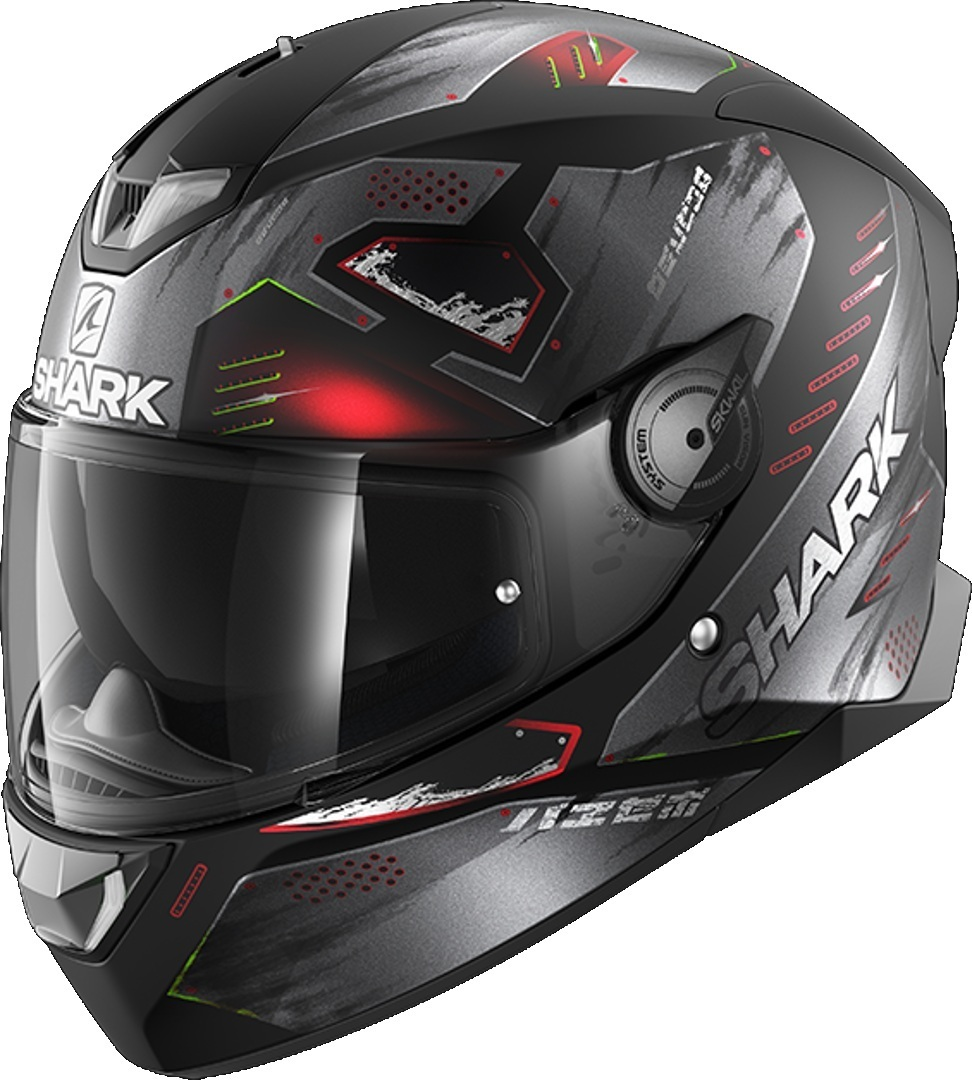 Shark Skwal 2.2 Venger Helmet, black-red, Size M, black-red, Size M from Shark