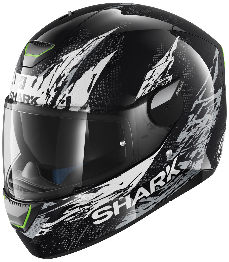 Shark Skwal Ellipse Helmet, black-white, Size XS, black-white, Size XS from Shark