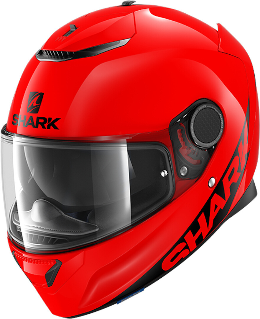 Shark Spartan Blank Helmet, red, Size L, red, Size L from Shark