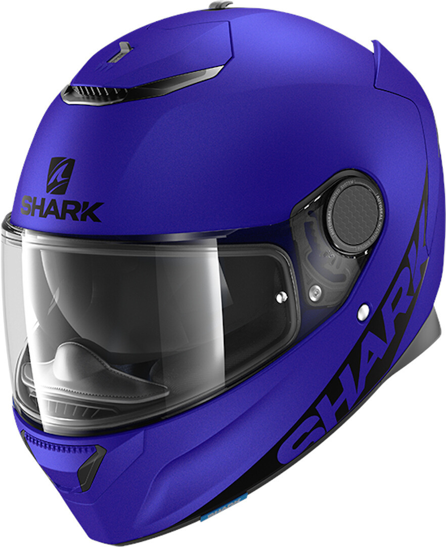 Shark Spartan Blank Mat Helmet, blue, Size 2XL, blue, Size 2XL from Shark