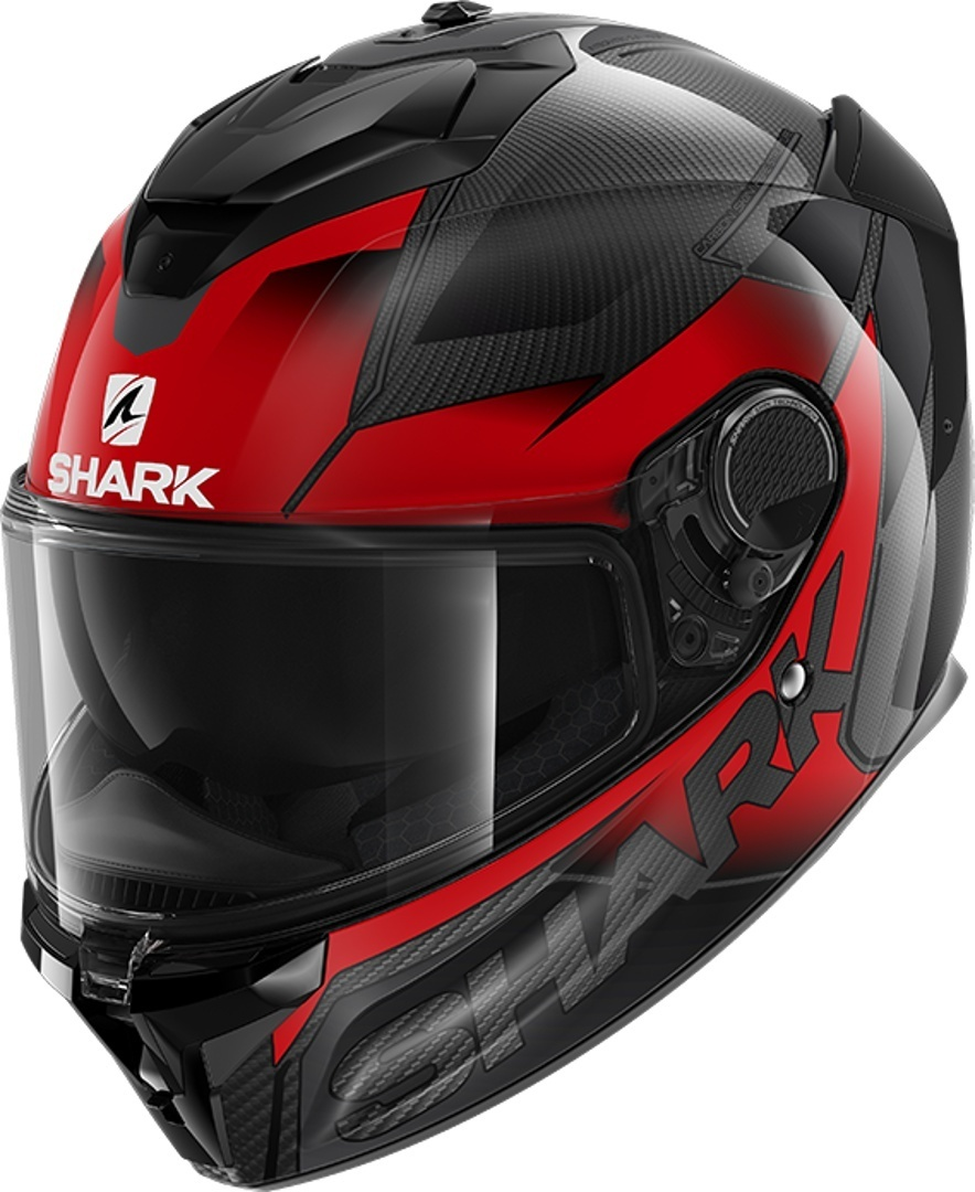 Shark Spartan GT Carbon Shestter Helmet, black-red, Size XS, black-red, Size XS from Shark